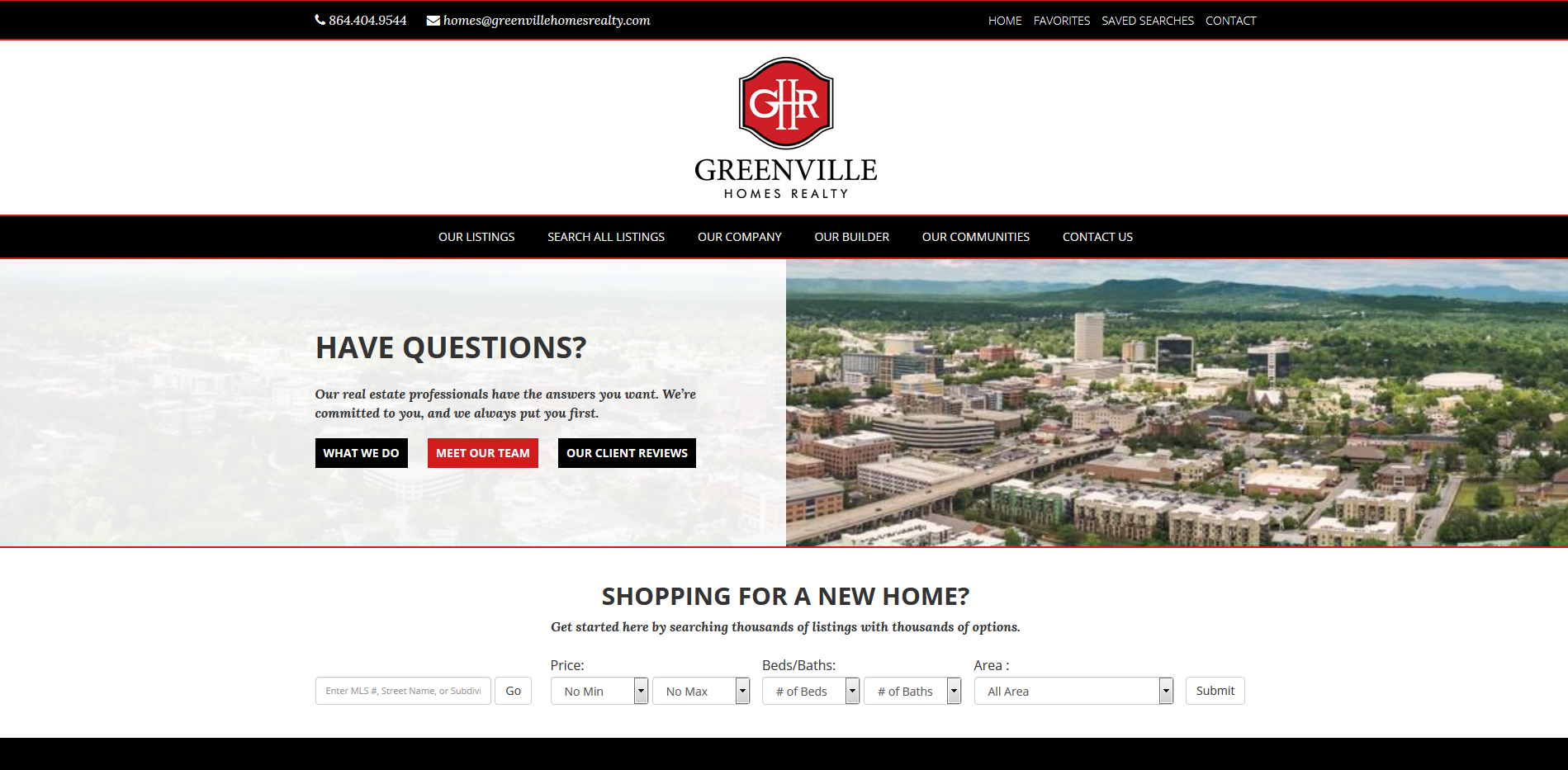 Greenville Homes Realty