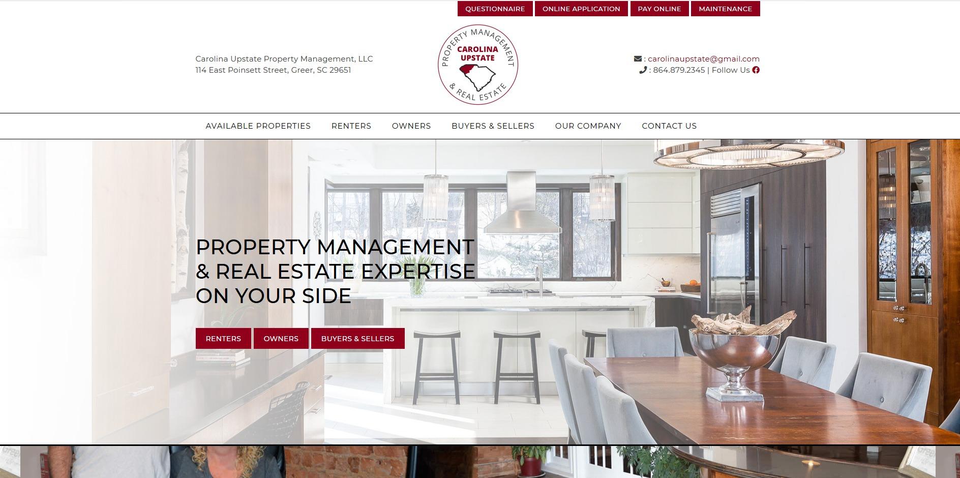Carolina Upstate Property Management